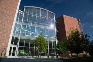 M.T. Geoffrey Yeh Student Center exterior.